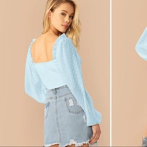 SHEIN Tops - Crop top blouse